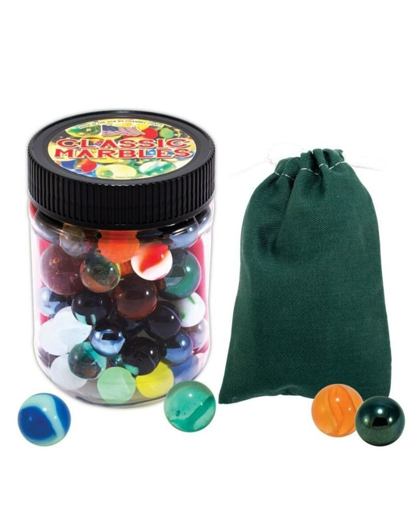 Channel Craft Marbles Toy Jar