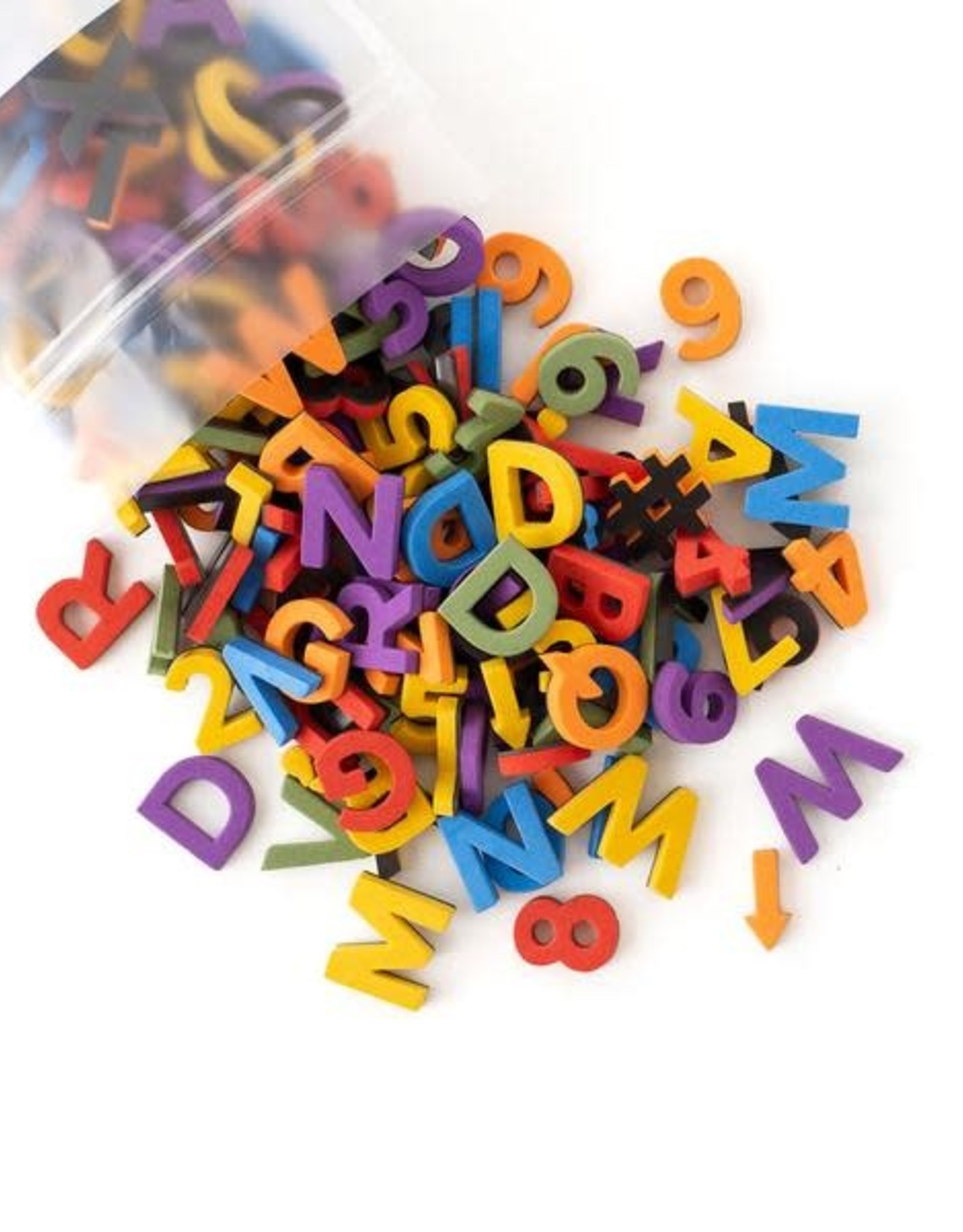 The Type Set Rainbow chic letters