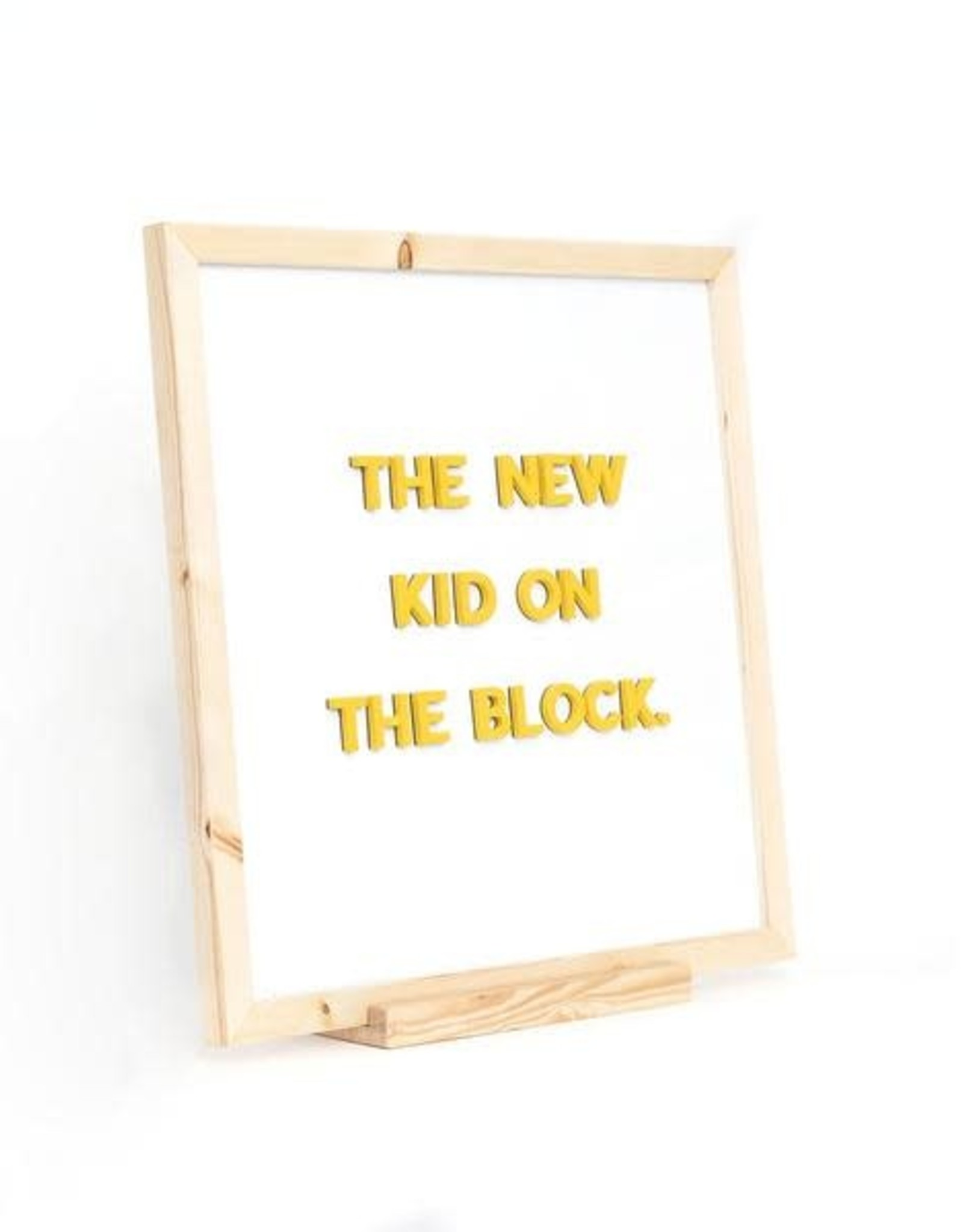 The Type Set The block easel