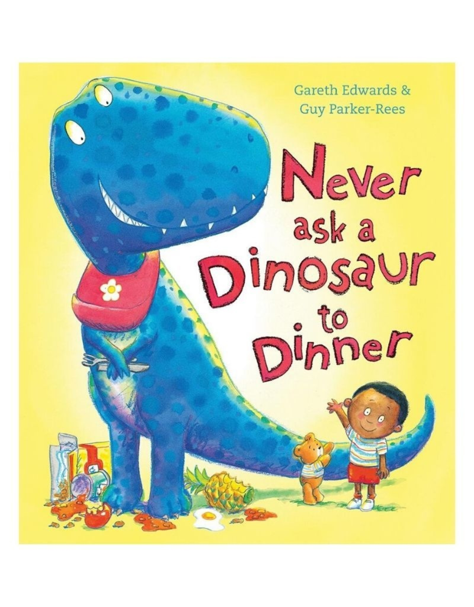 Scholastic Never Ask a Dinosaur to Dinner