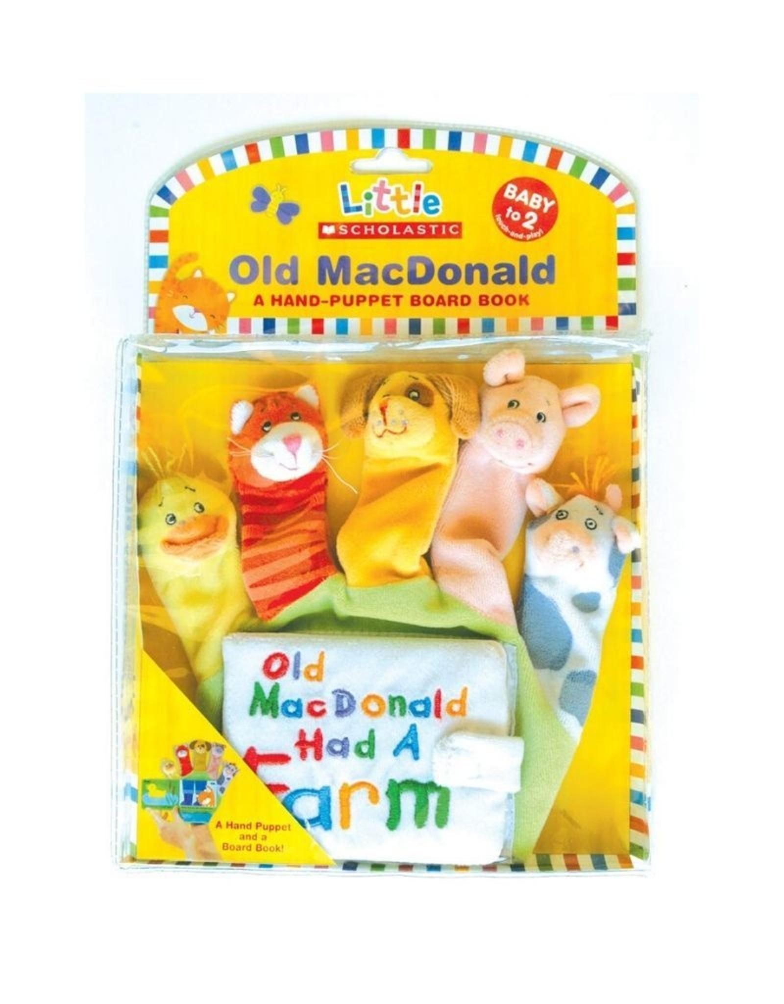 Scholastic Old Macdonald Hand Puppet Book