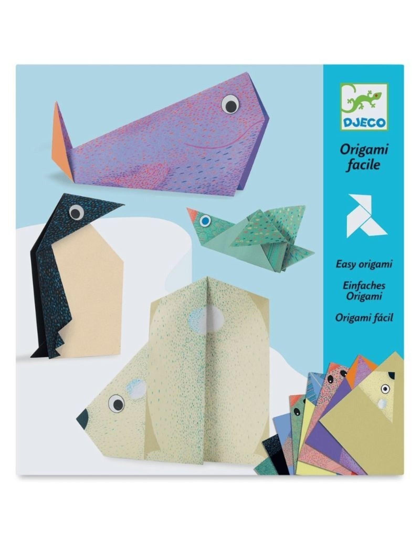 Origami Polar Animals