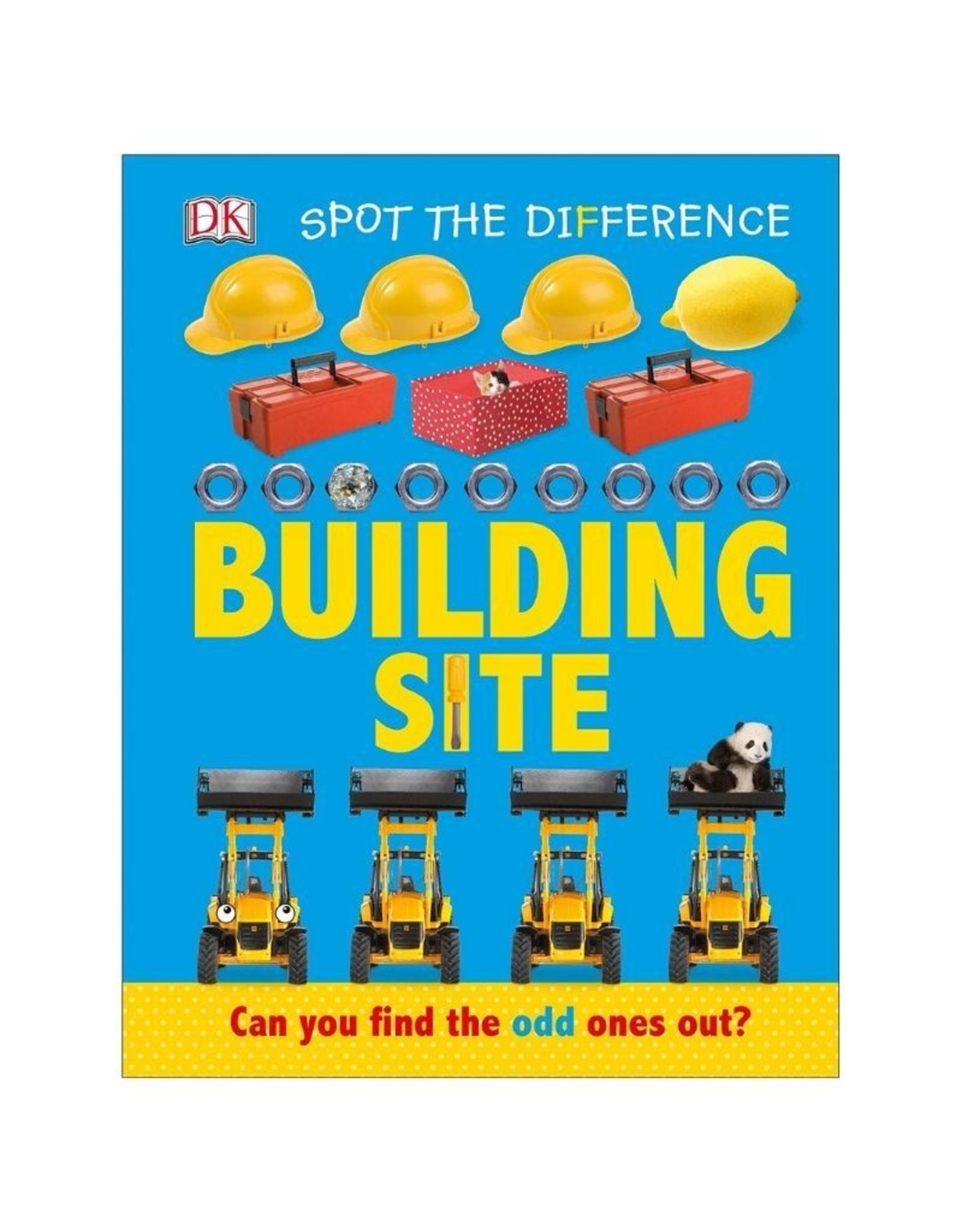Spot Difference Building Site