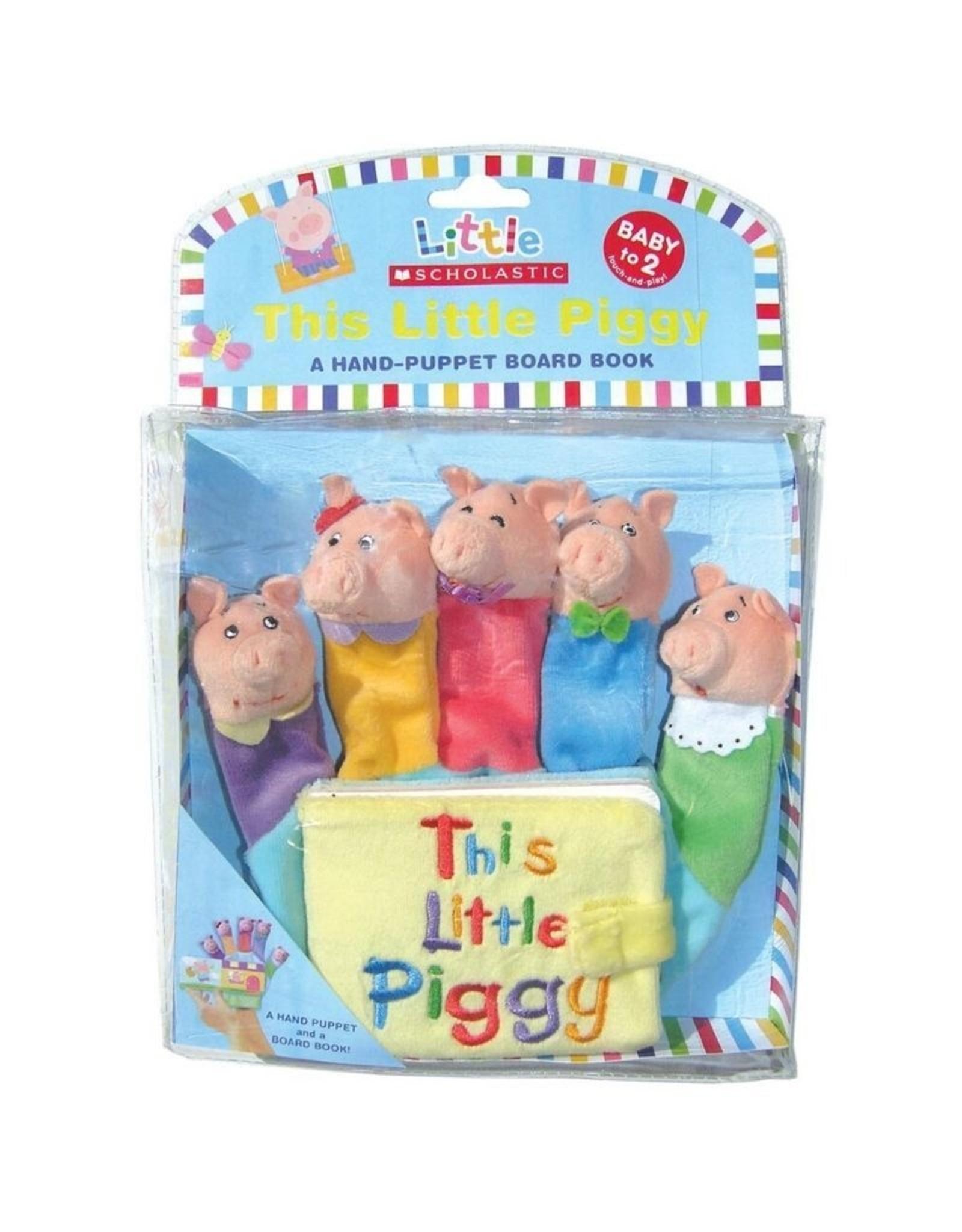 Scholastic This Little Piggy Hand Puppet Book