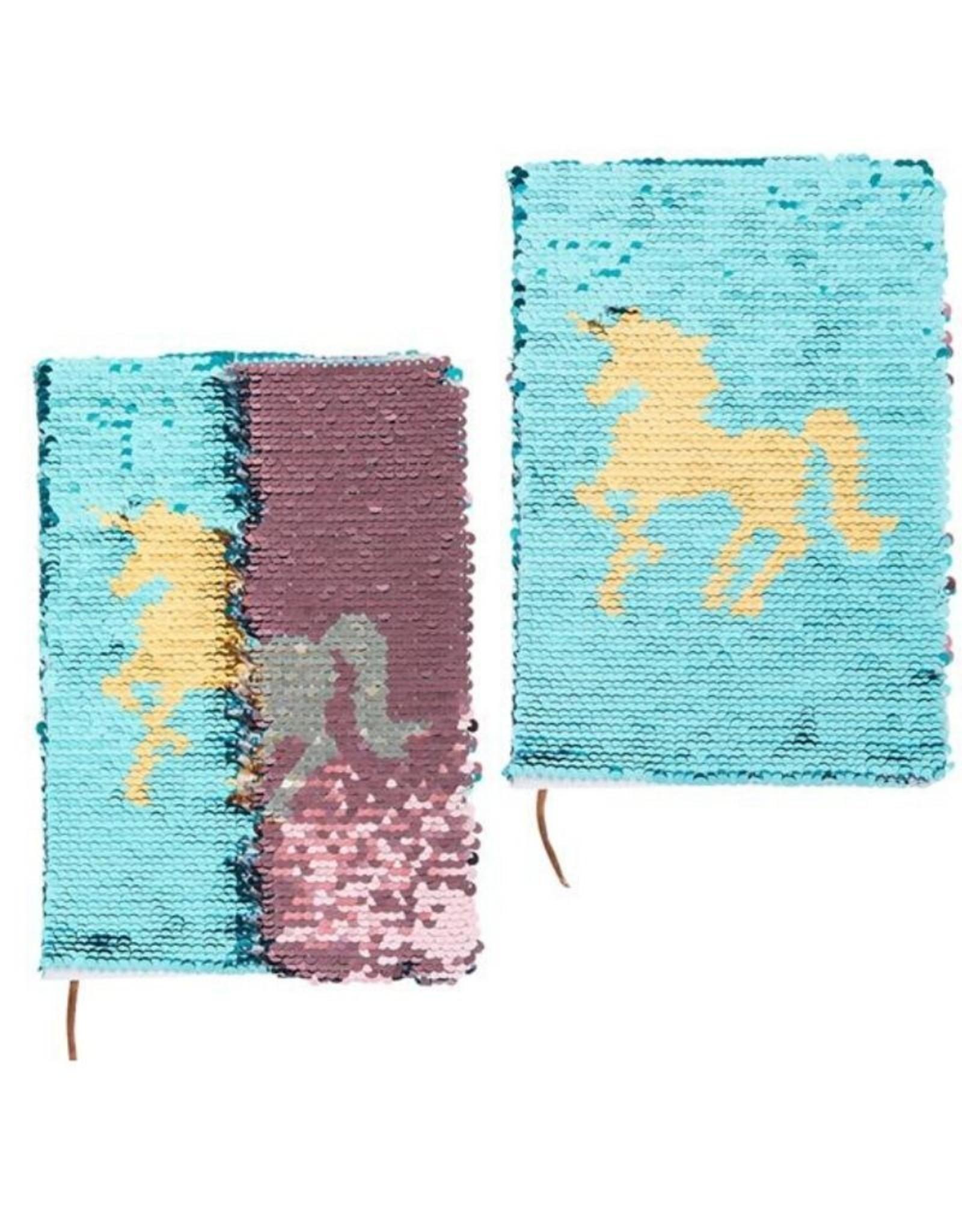 Unicorn Flip Sequin Journal