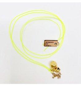 Atsuyo et Akiko Unicorn Necklace Yellow