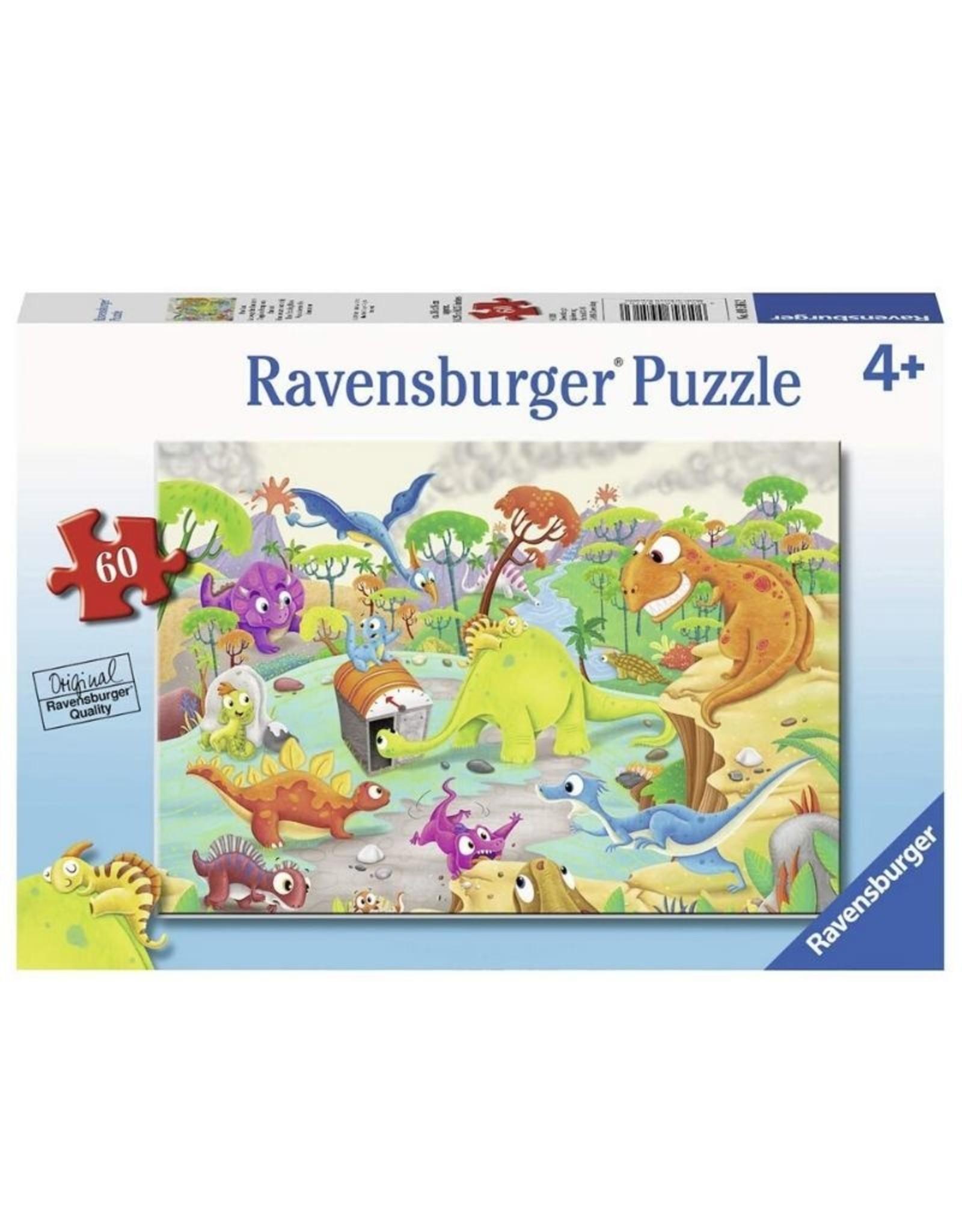 Ravensburger 09516 Time Traveling Dinos