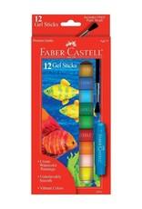 Faber-Castell 12ct Gel Sticks