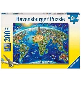 Ravensburger 13227 World Landmarks Map 300p