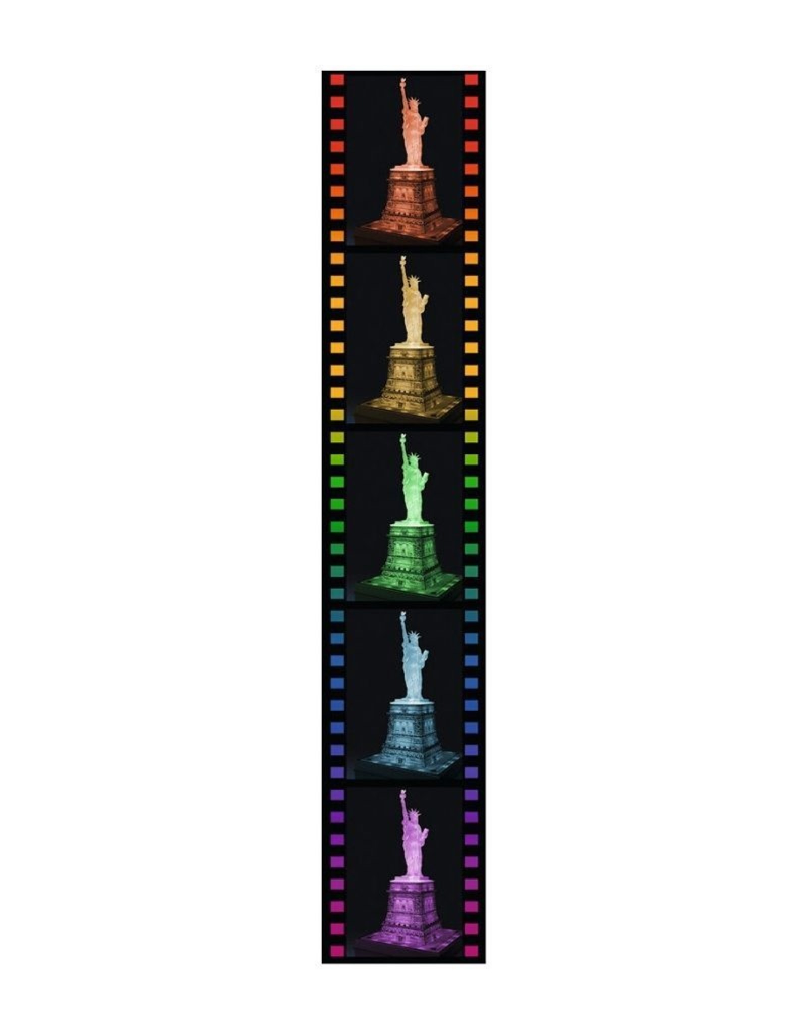 Ravensburger 12596 Statue of Liberty Night Edition
