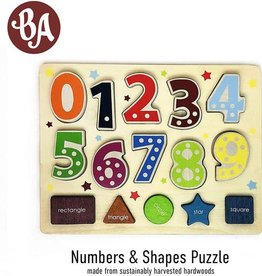 Begin Again Number and Shape Puzzle