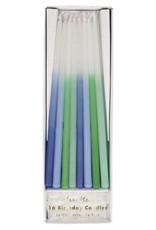 Meri Meri Blue Dipped Tapered Candles
