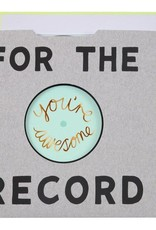 Meri Meri For The Record Card
