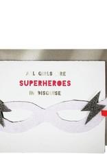 Meri Meri Girl Superhero Card
