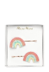 Meri Meri Glitter Rainbow Hair Slides