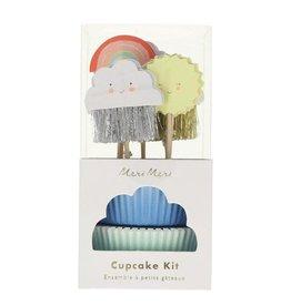Meri Meri Happy Weather Cupcake Kit