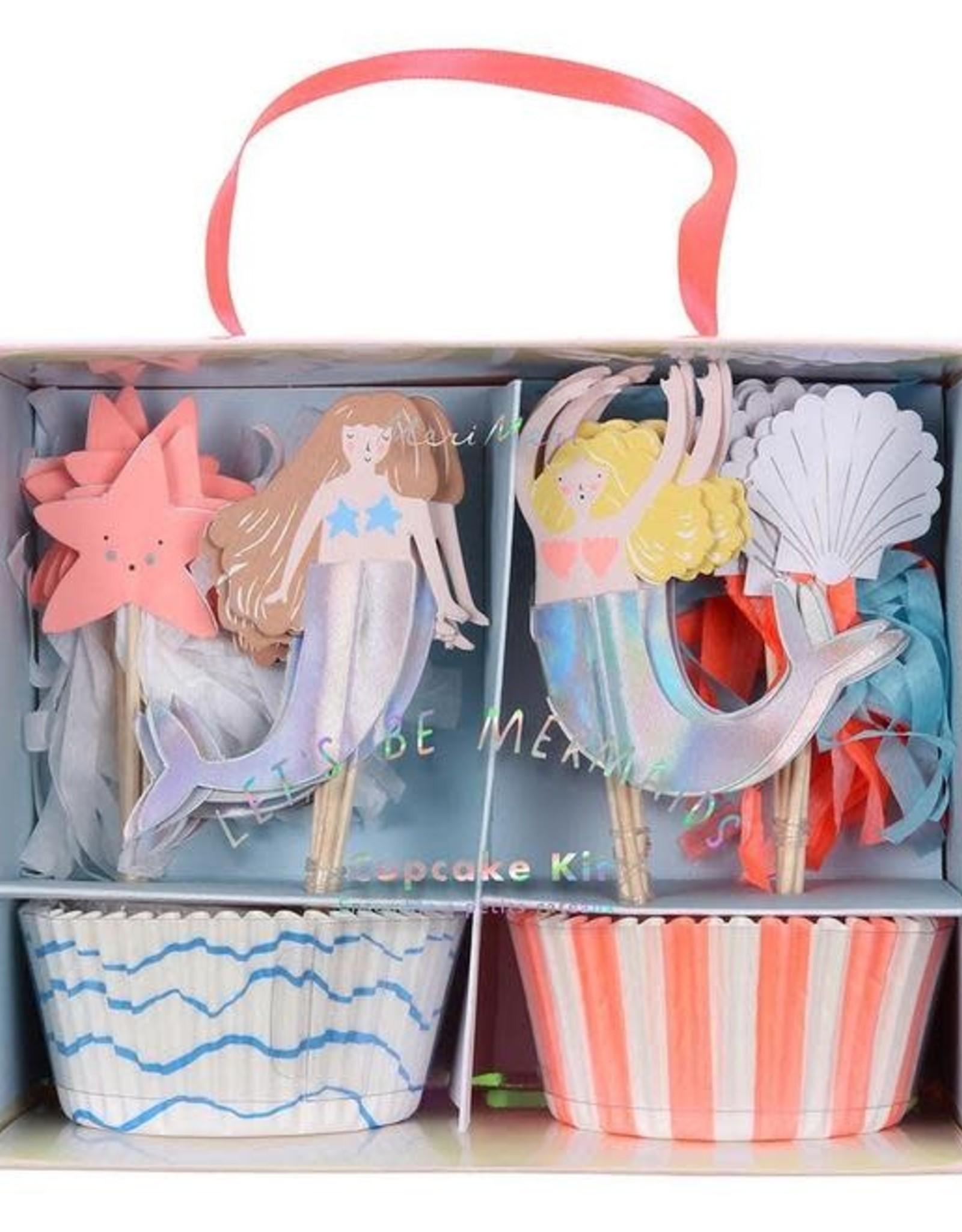 Meri Meri Let's Be Mermaids Cupcake Kit