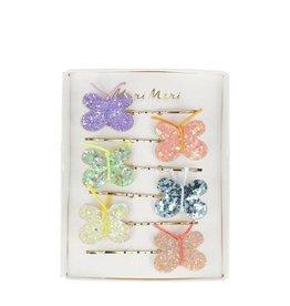 Meri Meri Glitter Butterfly Hair Slides
