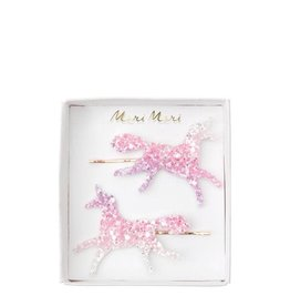 Meri Meri Ombre Glitter Unicorn Hair Slides