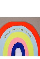 Meri Meri Rainbow Card 15-3525H
