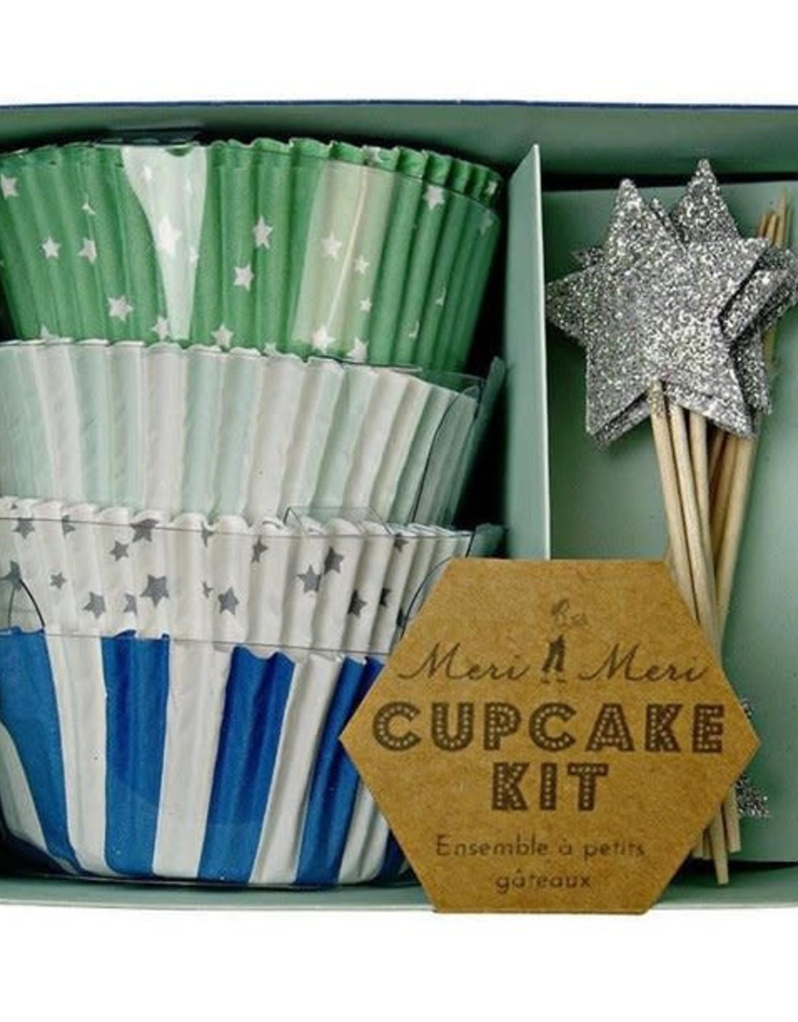 Meri Meri Toot Sweet Blue Cupcake Kit