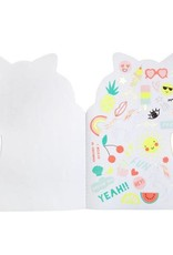 Meri Meri Unicorn Stickers and Sketch Book