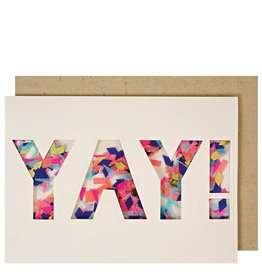 Meri Meri Yay Confetti Shaker Card