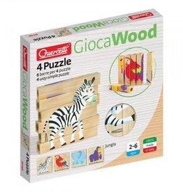 Quercetti 4 Puzzle Jungle 0710
