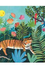 Djeco Silhouette The Tiger's Walk