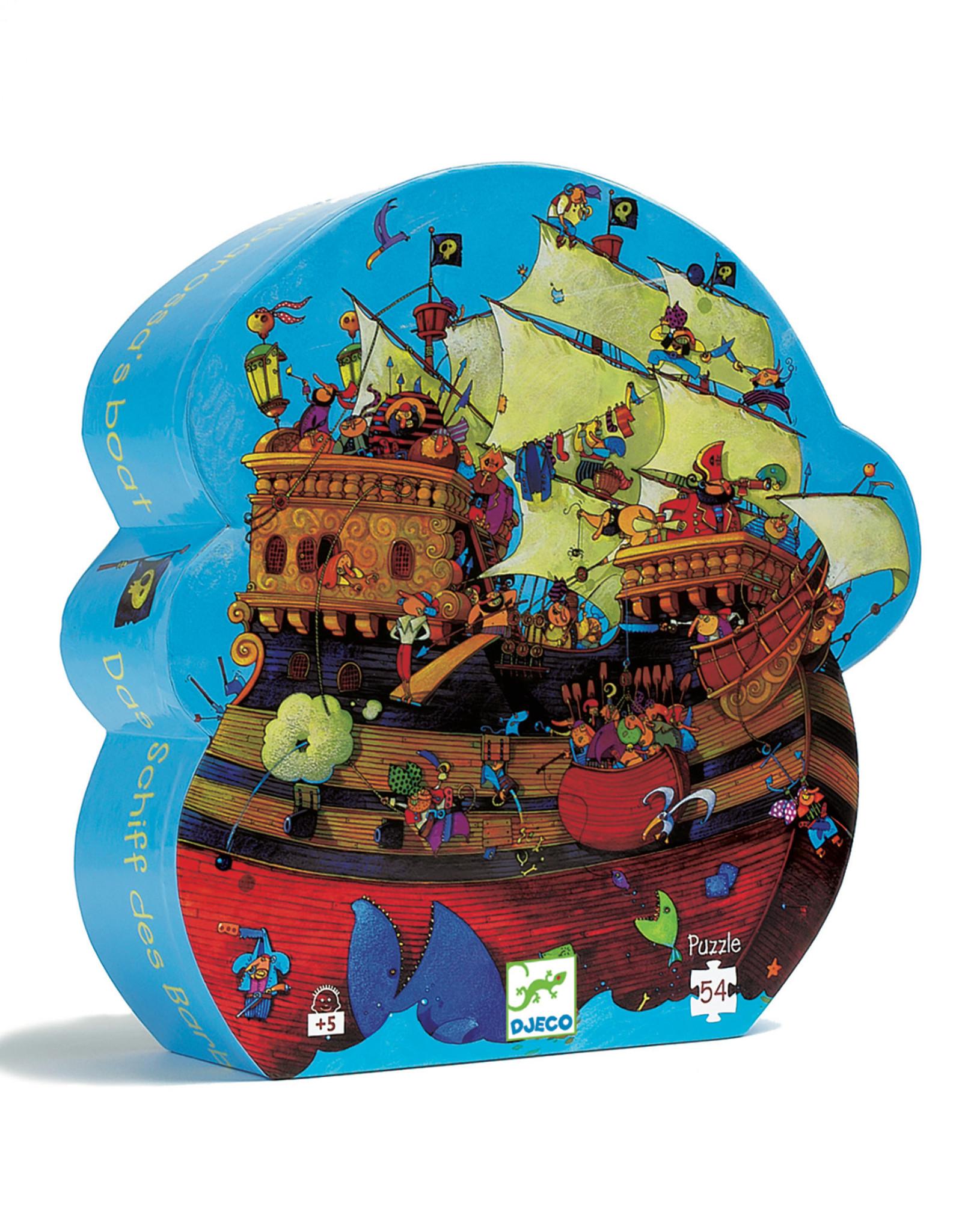 Djeco Silhouette Barbarossa's Boat