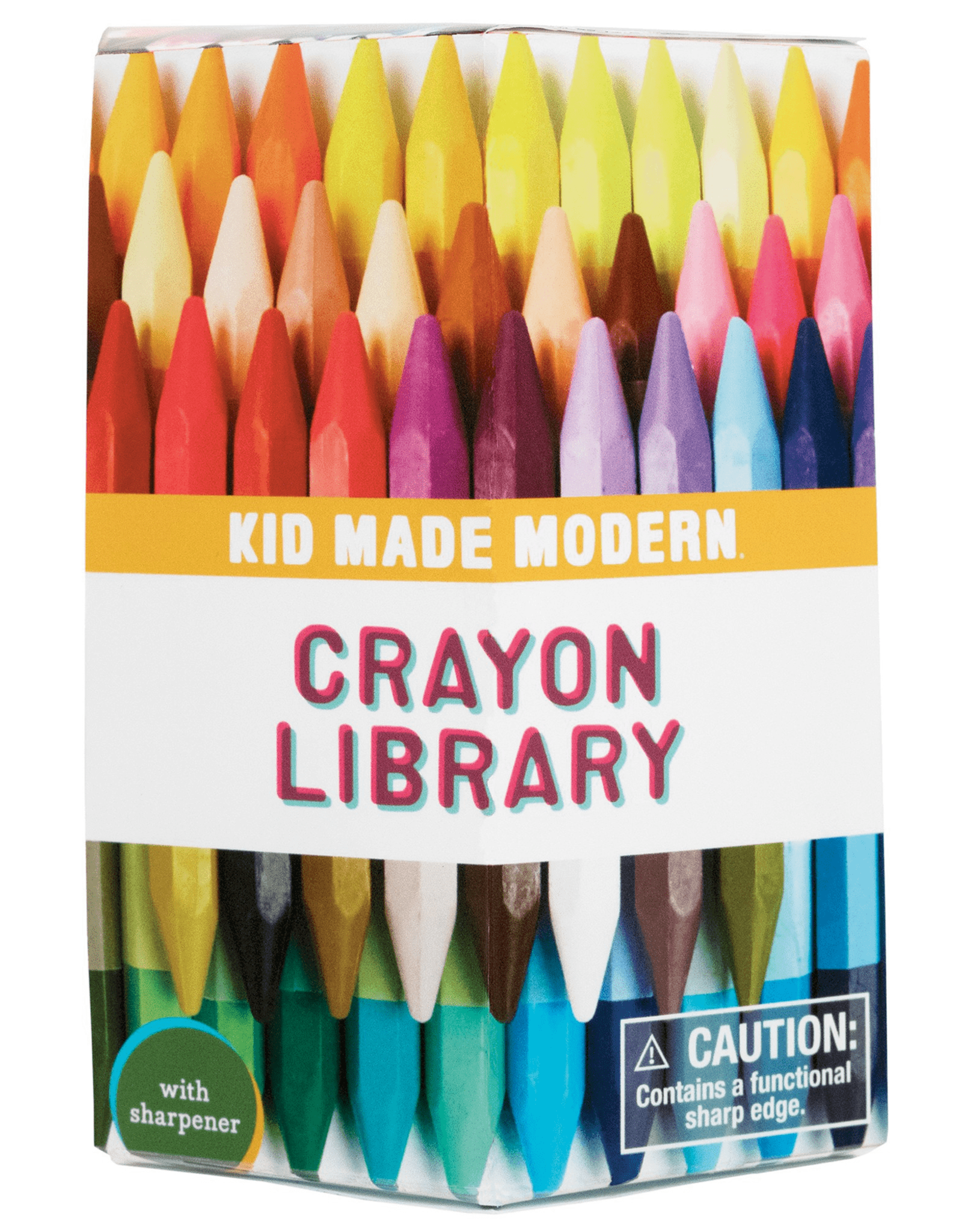 Kid Made Modern Crayon Library