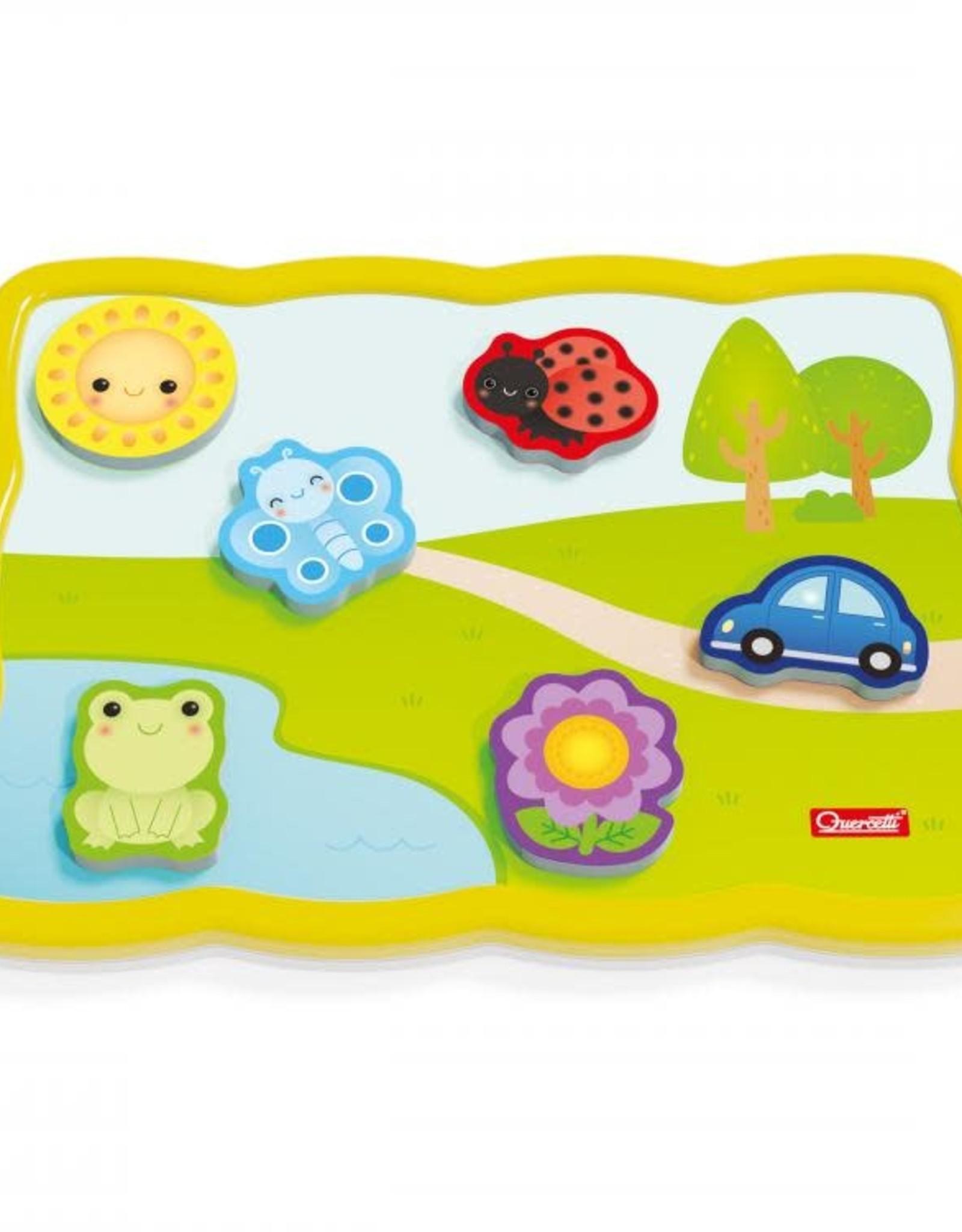 Quercetti Smart Puzzle Colors