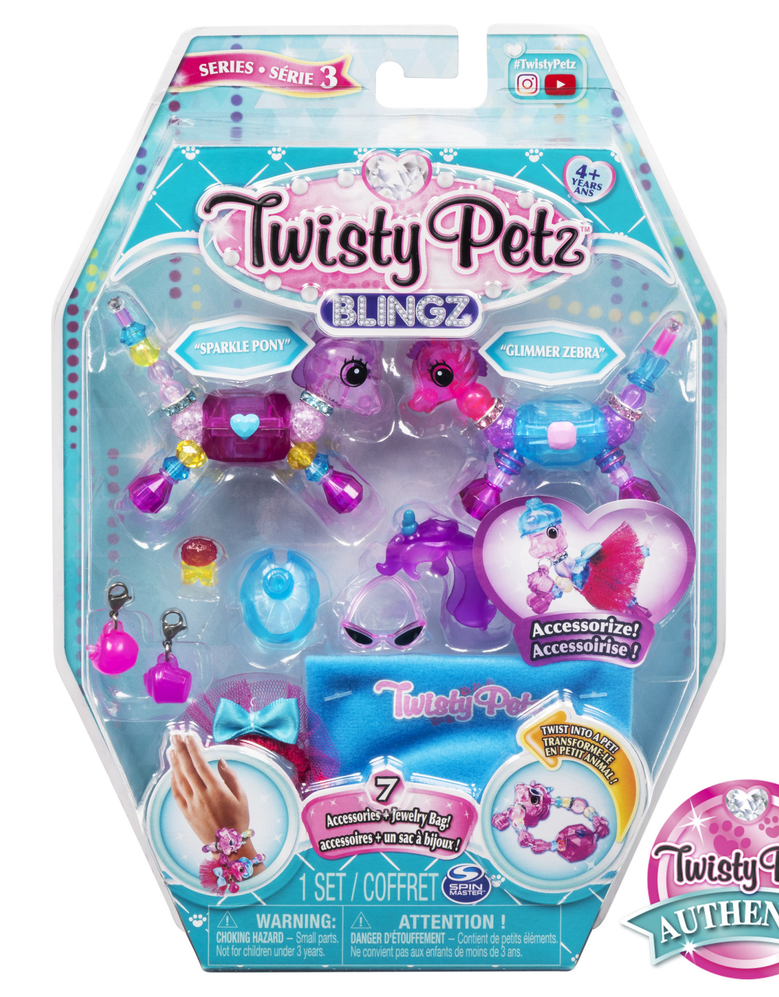 Toysmith Twisty Petz Blingz