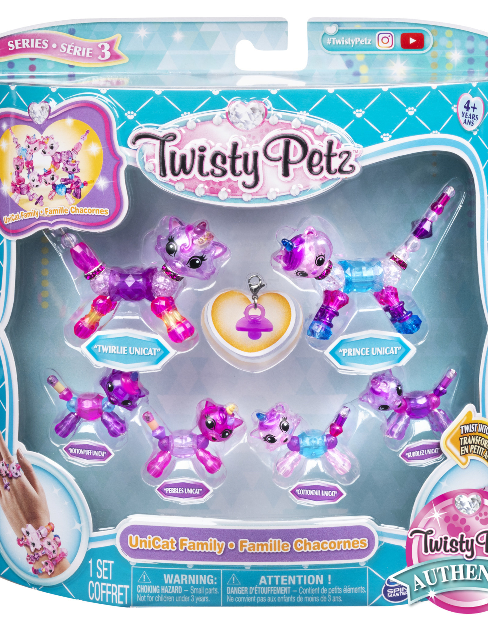Toysmith Twisty Petz Family Pack