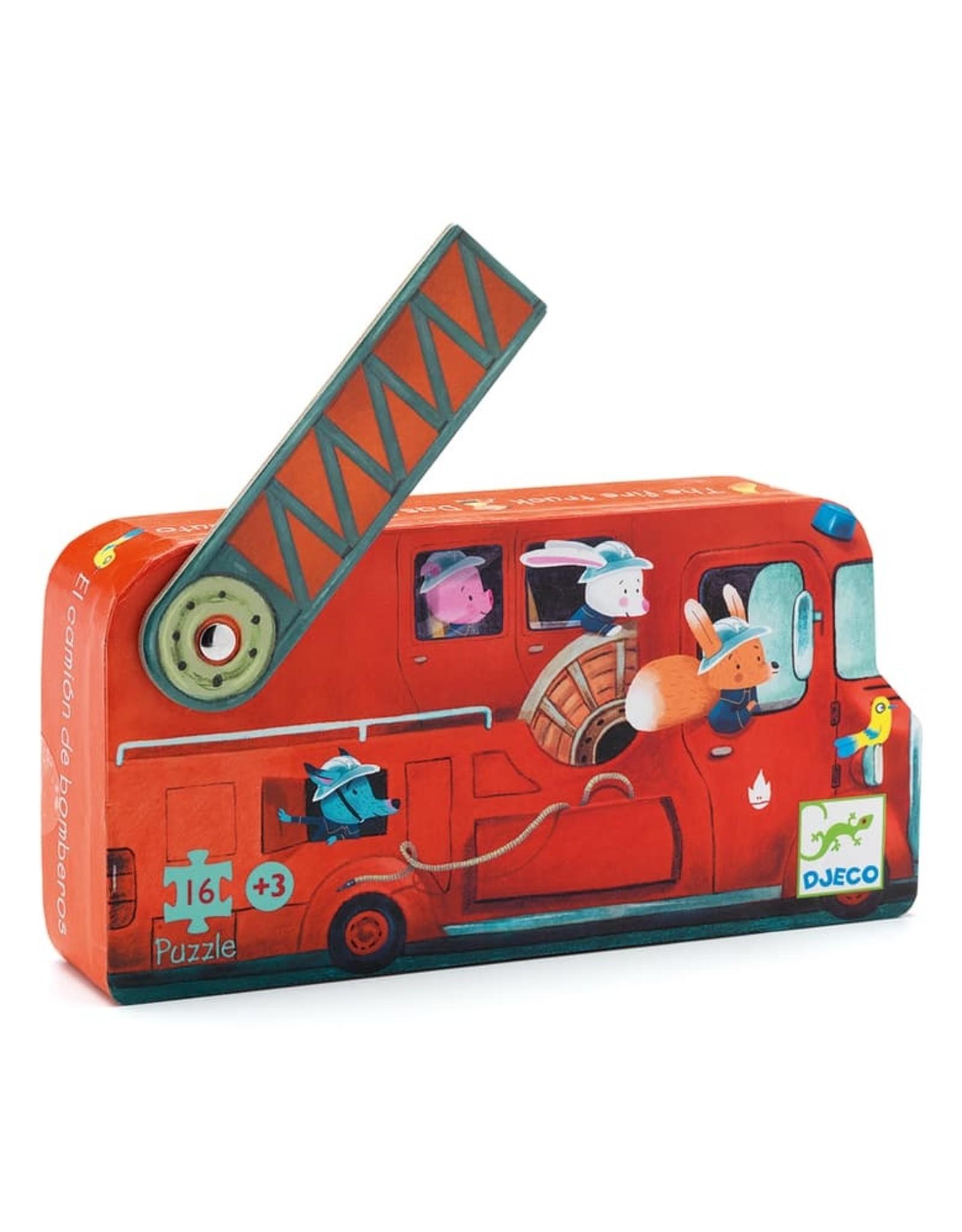Djeco Silhouette The Fire Truck