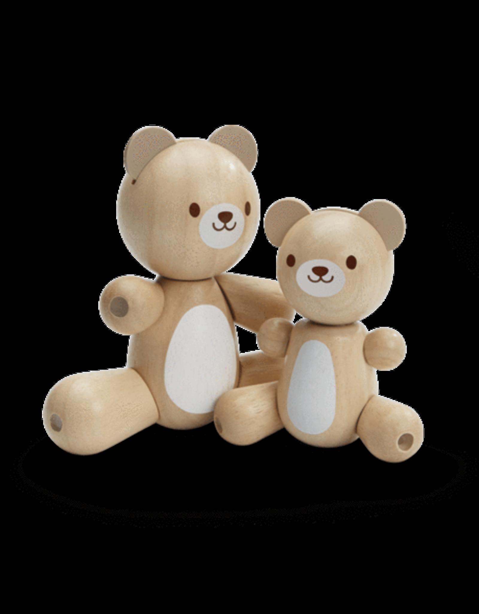 Plan Toys Bear and Little Bear