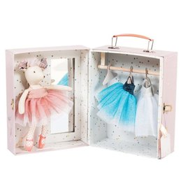 Moulin Roty Ballerina Mouse Valise 8pc