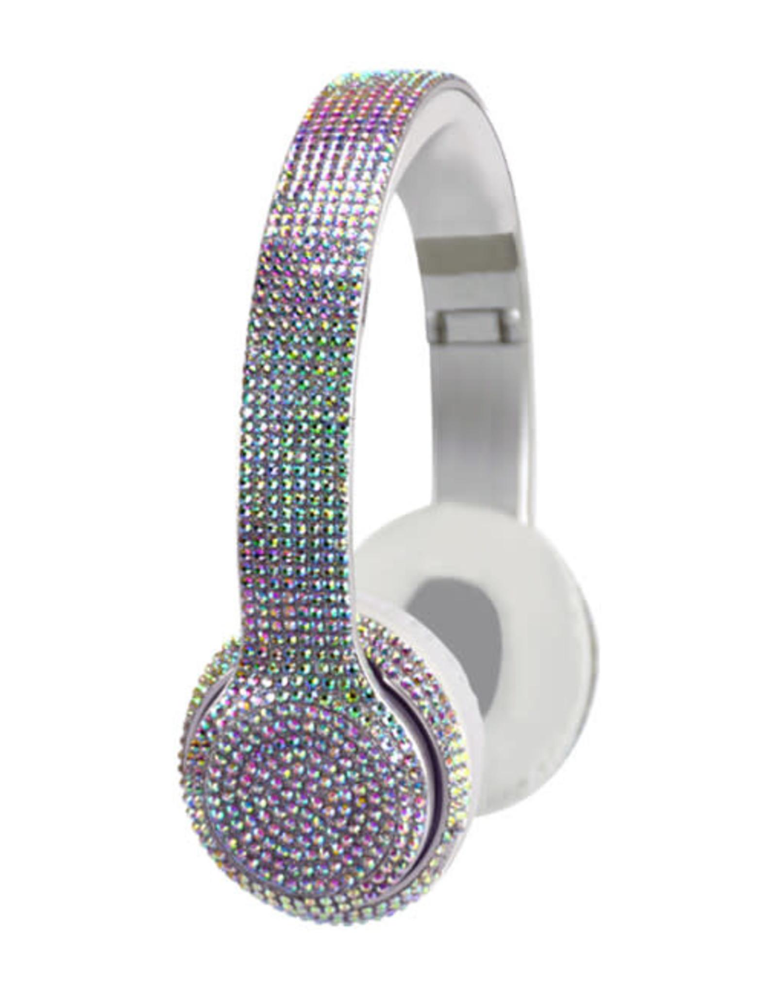 Wireless Express Bluetooth Bling Headphone Iridescent