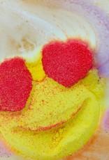 Feeling Smitten Fun And Fruity Rainbow Emoji Bath Bomb