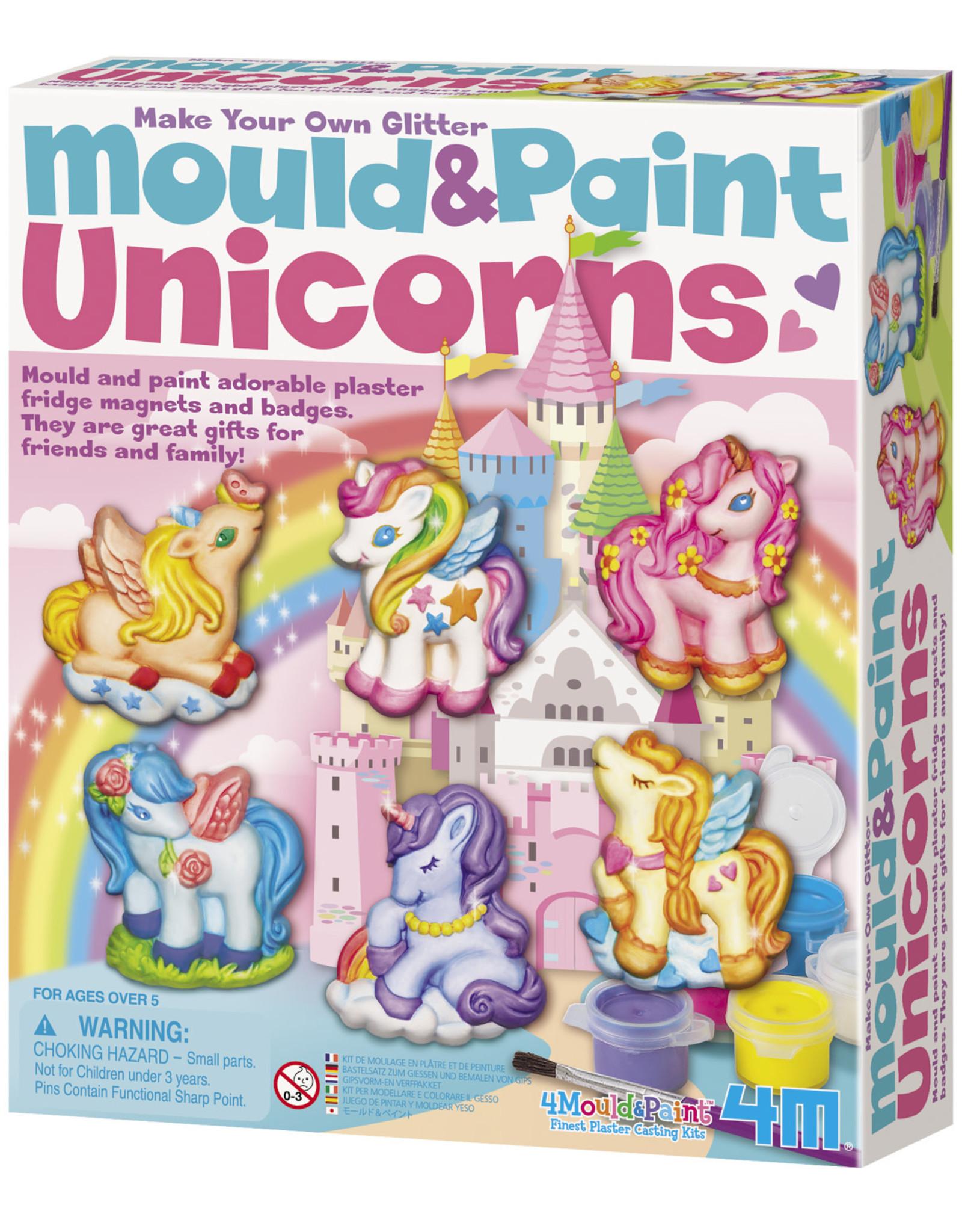 Toysmith Unicorns Mould And Paint