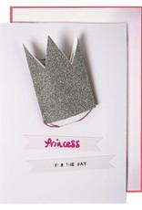 Meri Meri Glitter Princess Crown Card