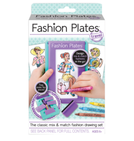 PlayMonster Fashion Plates Travel Set