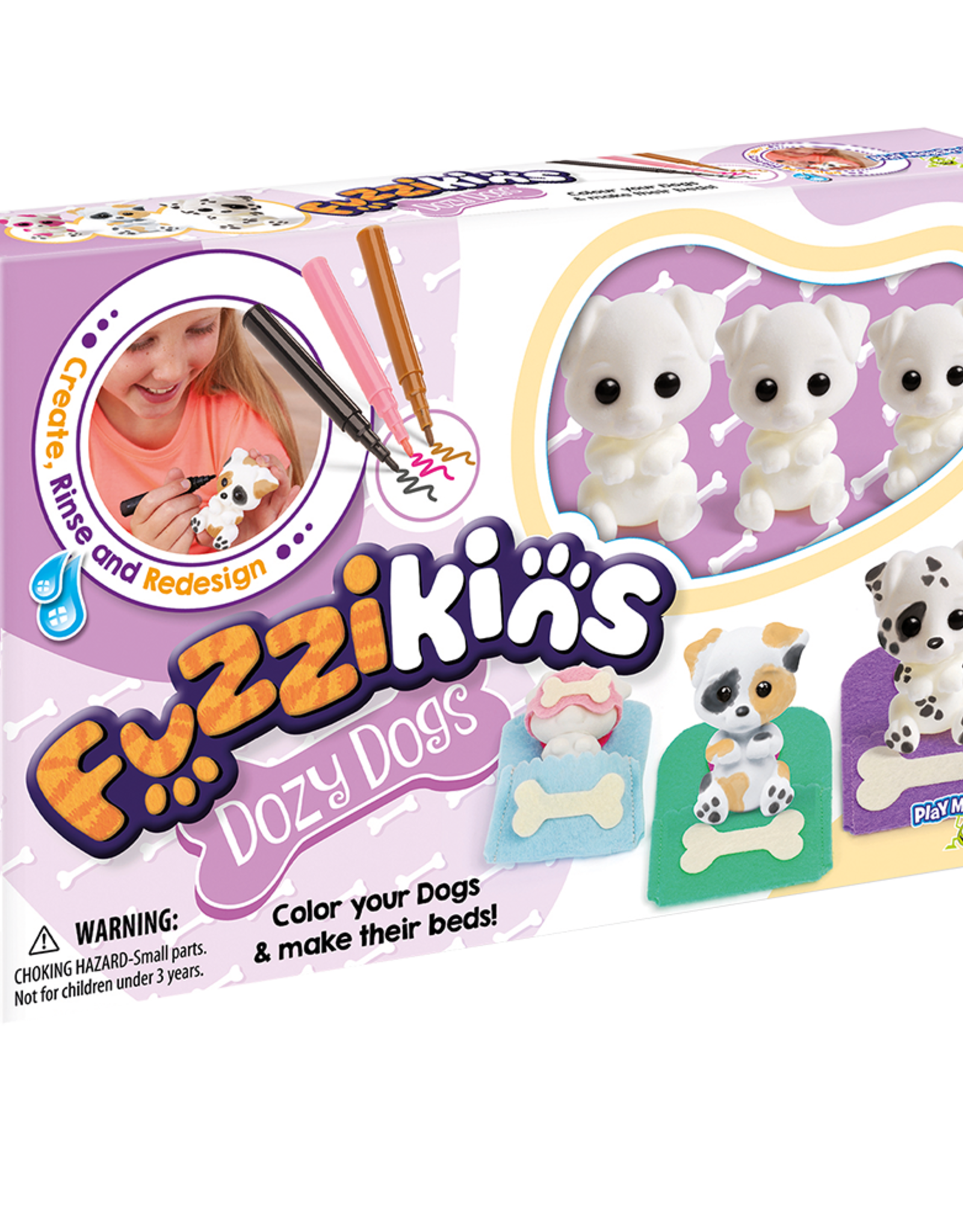 PlayMonster Fuzzikins Craft Cozy Dogs