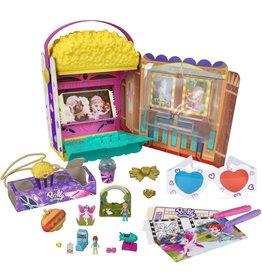 Mattel Polly Pocket Un-Box-It Popcorn Set