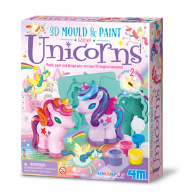 Toysmith 3D Mould and Paint Unicorns