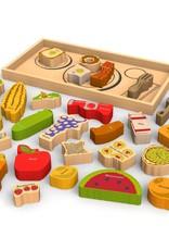 Begin Again Alphabites A-Z Food Puzzle