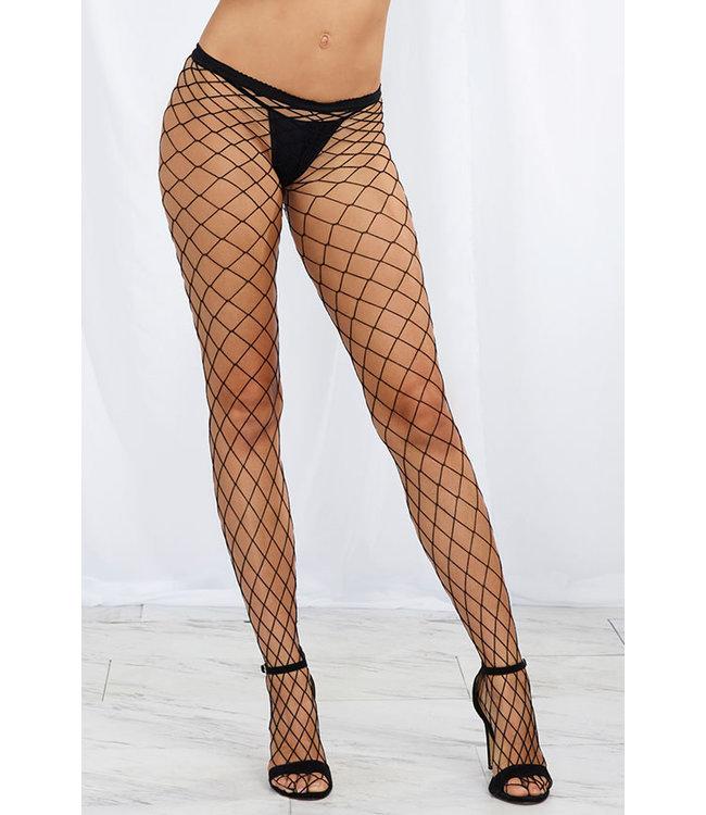 Diamond Net Pantyhose 0010