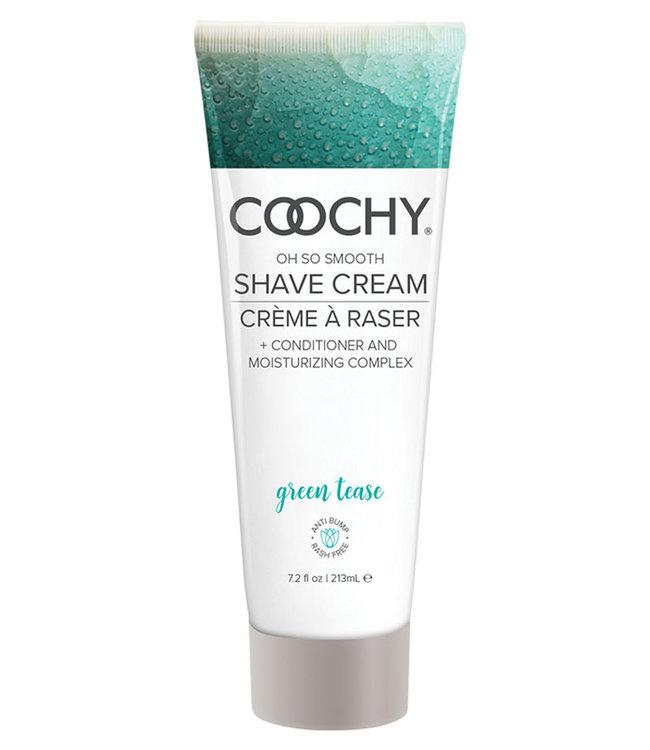 Coochy Shave Cream Green Tease 7.2oz