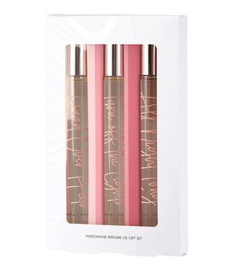 CG Perfume Oil With Pheromones Trio Gift Set