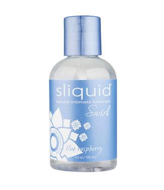 Sliquid Swirl Lubricant  Blue Raspberry 4.2oz